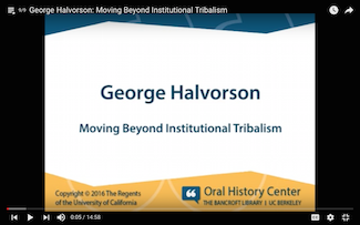 Moving Beyond Institutional Tribalism