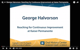 Reaching for Continuous Improvement at Kaiser Permanente